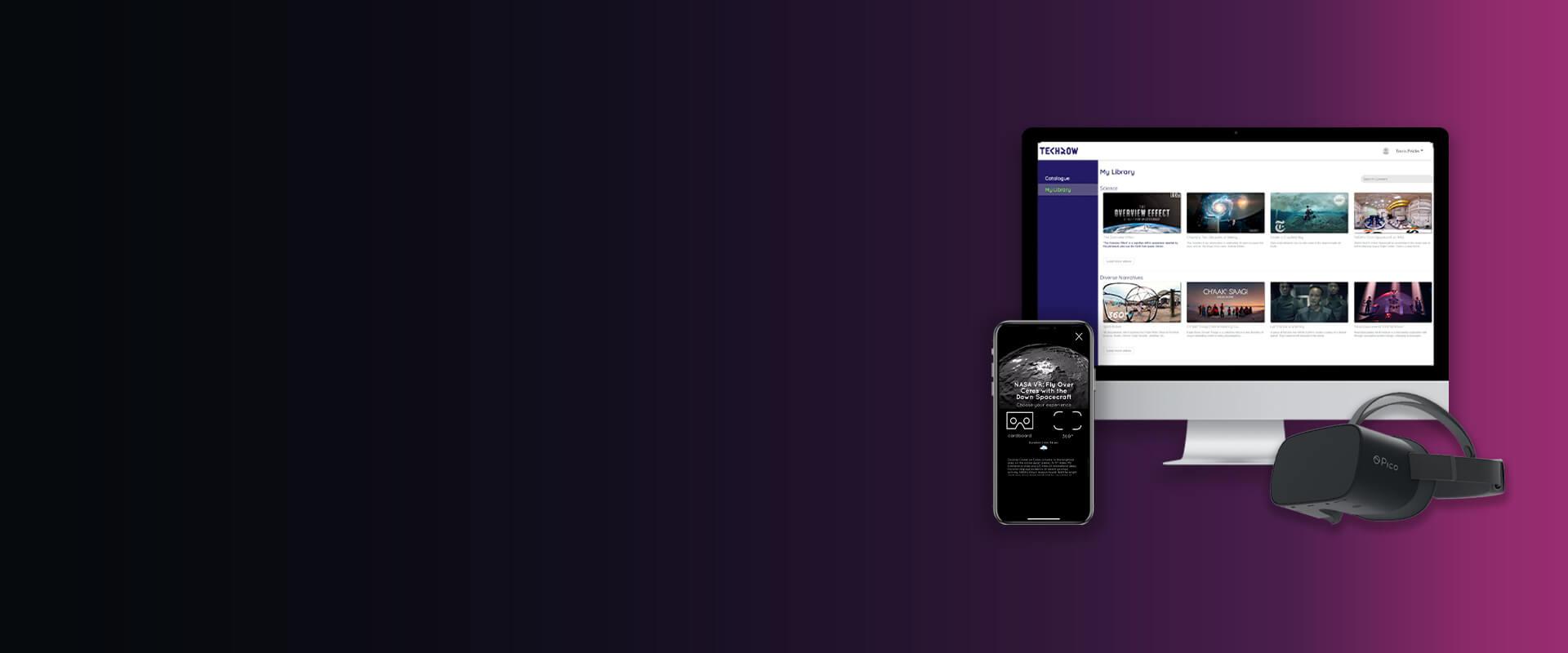 TechRow E-Learning Platform - Visartech Portfolio