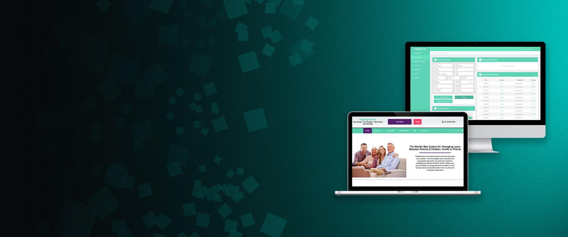 PayMyParents Loan Management Platform - Visartech Portfolio