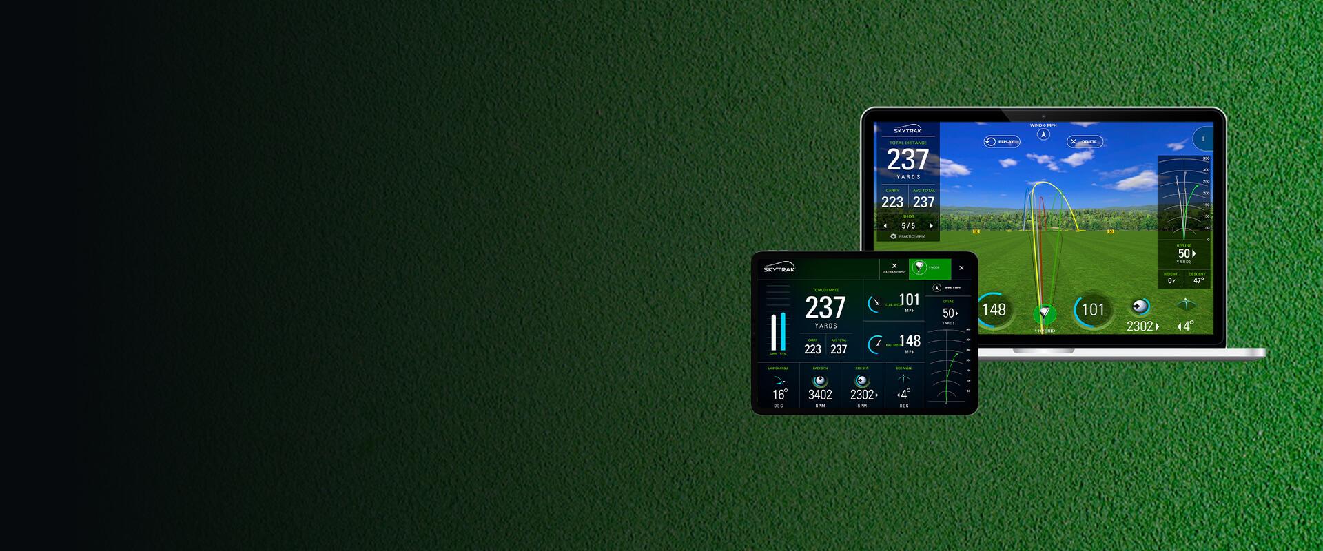 SkyTrak Golf Simulation Platform - Visartech Portfolio