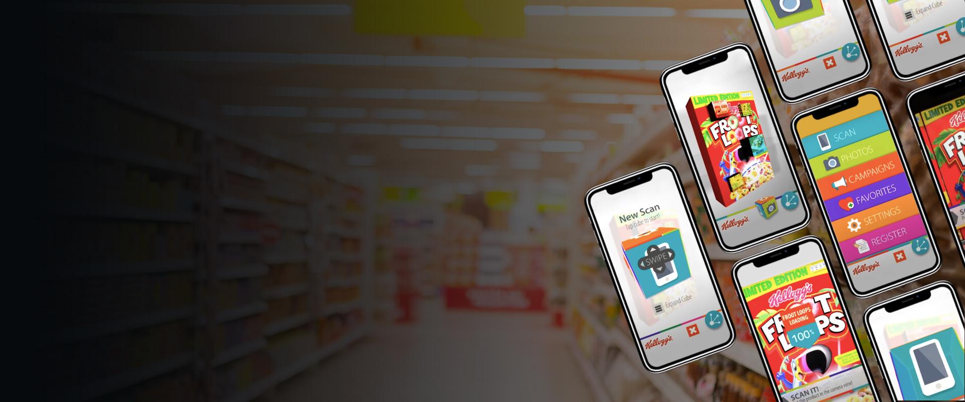 Kellogg's Interactive AR App - Visartech Portfolio