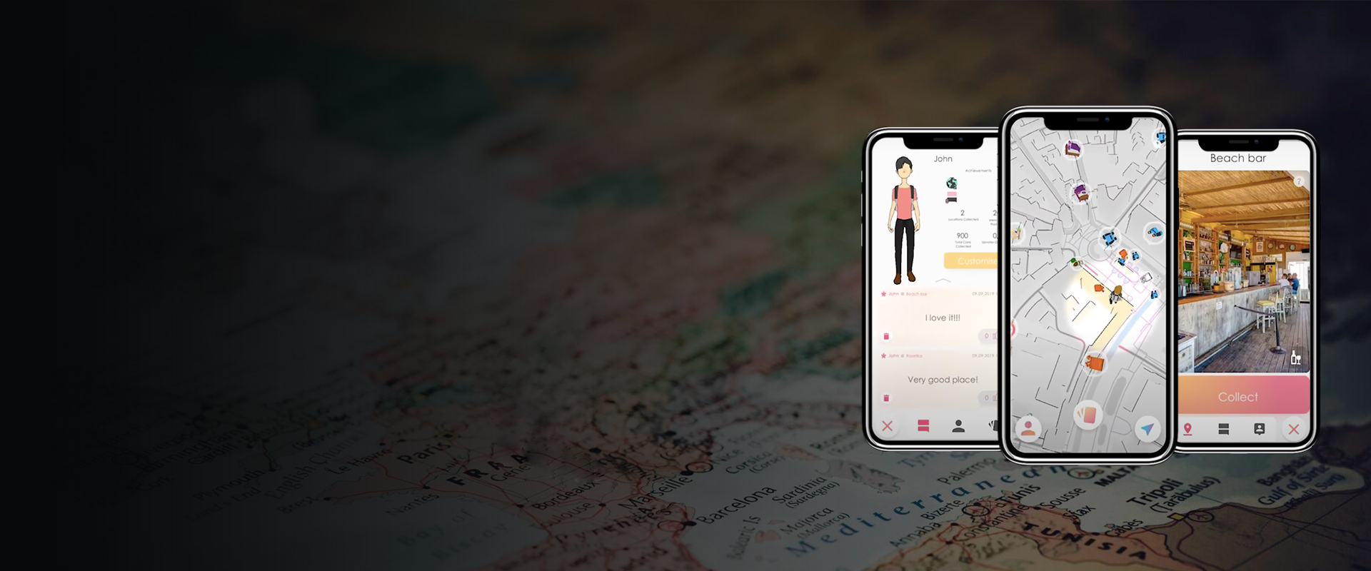 ExplorR Geo-Based App - Visartech Portfolio